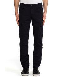 J Brand | Black Trooper Pants for Men | Lyst