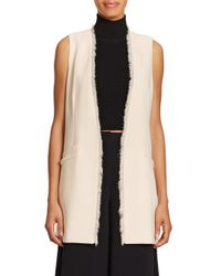 Elizabeth and James | White Hannover Vest | Lyst