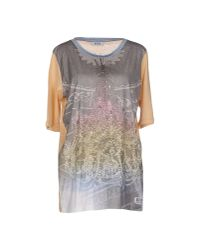 Boutique Moschino   Gray T-shirt   Lyst