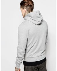 Le Coq Sportif - Gray Hoodie for Men - Lyst