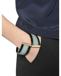 Emporio Armani | Blue Resin Bracelet | Lyst