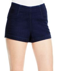Jessica Simpson | Blue High-waist Shorts | Lyst