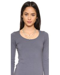 Chan Luu - Multicolor Beaded Shell Layered Necklace - Lyst