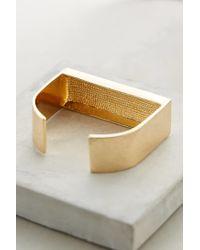 BaubleBar | Metallic Gold Rush Cuff | Lyst