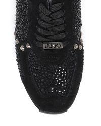Liu Jo   Black 'aura' Running Shoe   Lyst