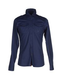Dekker - Blue Shirt for Men - Lyst