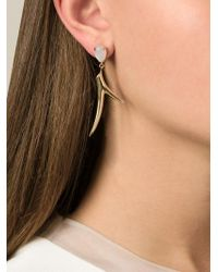 Shaun Leane | Metallic Moonstone Branch Earrings | Lyst