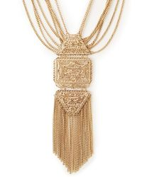 Forever 21 - Metallic Goddess Filigree Necklace - Lyst