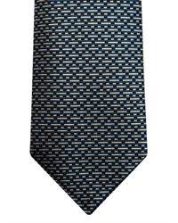 Gucci | Blue Broken-Stripe Jacquard Silk Tie for Men | Lyst