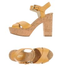 MICHAEL Michael Kors | Natural Sandals | Lyst