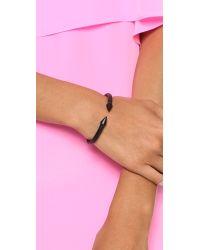 Vita Fede - Mini Titan Bracelet Matte Black - Lyst