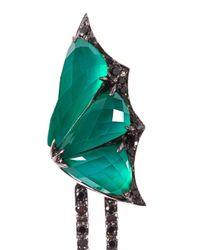 Stephen Webster - Green Diamond Quartz Fly By Night Earrings - Lyst
