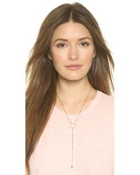 Vanessa Mooney - Metallic The Colt Necklace - Gold - Lyst