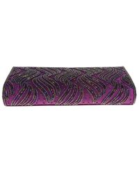 Nina - Purple Halton Clutch - Lyst