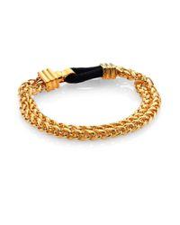 Elizabeth and James | Metallic Baltic Chain Bracelet | Lyst
