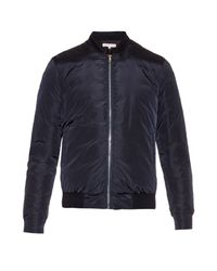 Orlebar Brown - Blue Damon Down-filled Bomber Jacket for Men - Lyst
