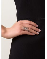 Ileana Makri - Black Python Ring - Lyst