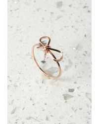 Forever 21 - Pink By Boe Reminder Bow Ring - Lyst