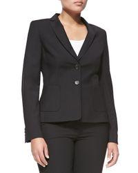 ESCADA - Black Two-Button Blazer - Lyst