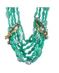 Alexis Bittar | Green Maldivian Feathered Tressage Necklace | Lyst