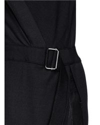 Helmut Lang - Black 'Ascend' Wrap Tunic - Lyst