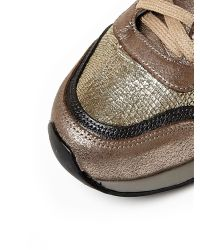 Moda In Pelle | Metallic Beatriz Low Casual Shoes | Lyst