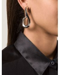 Annelise Michelson - Metallic 'broken Chain' Earring - Lyst