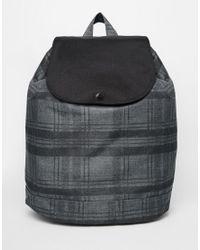 Herschel Supply Co. - Black Reid Backpack In Check - Lyst