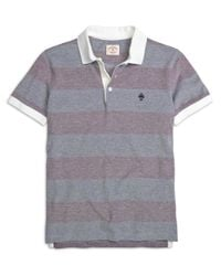 Brooks Brothers | Purple Wide Stripe Polo Shirt for Men | Lyst