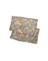 Denim & Supply Ralph Lauren | Gray Floral Cotton Scarf | Lyst