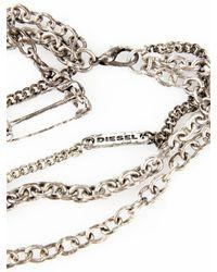 DIESEL - Metallic Abalias - Lyst