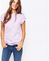 ASOS - Purple The Ultimate Easy T-shirt - Lyst