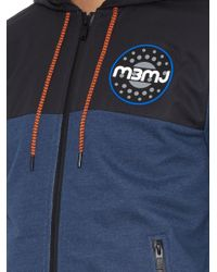Marc By Marc Jacobs - Blue Electric Cotton-Jersey Hooded Sweatshirt for Men - Lyst