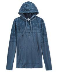 American Rag | Blue Southside Hoodie for Men | Lyst