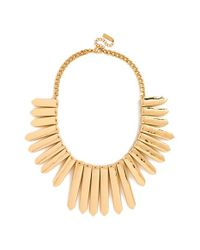 BaubleBar - Metallic 'ra' Bib Necklace - Lyst