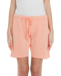 CLU - Orange Basic Sweat Shorts - Lyst