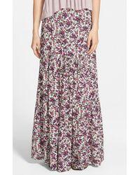 Volcom - Pink 'petal Head' Skirt - Lyst