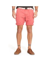 Denim & Supply Ralph Lauren - Pink Surplus Chino Short for Men - Lyst