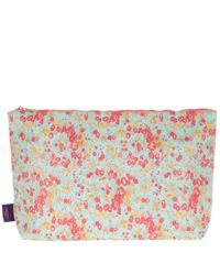 Liberty - Blue Large Tatum Print Tana Lawn Wash Bag - Lyst