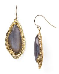 Alexis Bittar | Gray Elements Rocky Labradorite Drop Earrings | Lyst