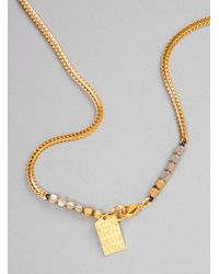 Lizzie Fortunato - Metallic Francoise Gold Plated Necklace - Lyst