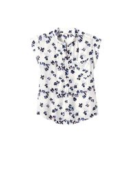 Rebecca Taylor - White Sleeveless Pinwheel Posey Top - Lyst
