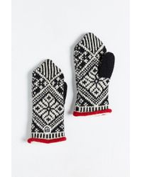 Hestra | Black Nordic Knit Mitten for Men | Lyst