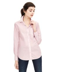 Banana Republic | Pink Dillon-fit Basic Shirt | Lyst