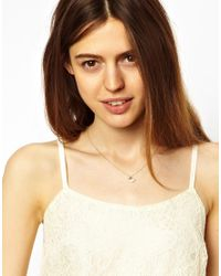 ASOS - Pink Limited Edition Shell Bird Necklace - Lyst