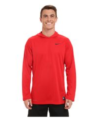 Nike | Red Elite Hooded Shooter Shirt for Men | Lyst