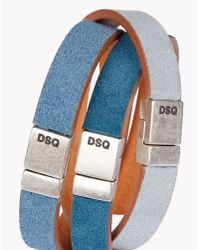 DSquared² | Blue Rainbow Armlet for Men | Lyst