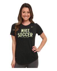 Nike - Black Dri-fit™ Soccer Dri Blend Tee - Lyst
