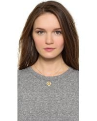 Giles & Brother | Gray Lariat Charm Necklace | Lyst