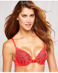 Lily Of France - Red Extreme Ego Boost Lace Push Up 2131701 - Lyst
